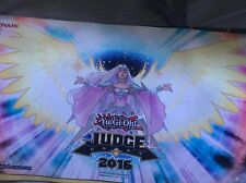x1 BEATRICE, LADY OF THE ETERNAL JUDGE 2016 PLAY MAT MINT YUGIOH YCS