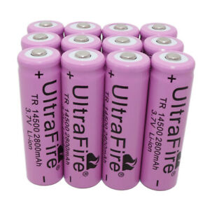 1-2-4-6-8-10-12-16-20PC-14500-Battery-Li-ion-3-7V-2800mAh-Rechargeable-Batteries
