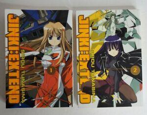 Jinki: Extend Volume 1 2 Manga Graphic Novel Book Lot in English