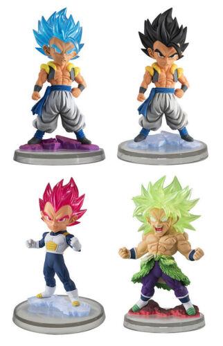 Bandai Dragon Ball Z Super Figure UG 09 Full set of 4 SSGSS Gogeta Vegeta Broly