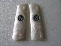 Cool White Pearl Color Resin Grip For 1911 Taurus Sr1911 Beautiful Handmade