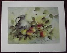 Jan Kooistra -Apples Gemälde Bild 40x50cm Kunstdruck Äpfel Herbst Motiv III