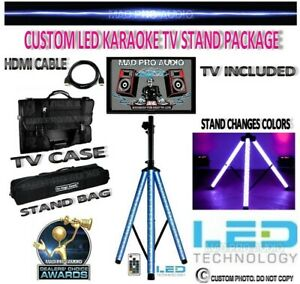 Karaoke TV Stand karaoke monitor stand with TV, LED stand, case, bag, hdmi cable