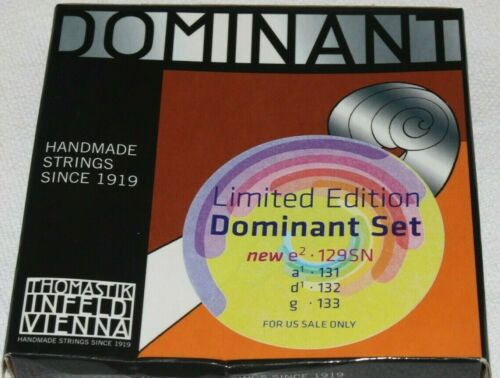 --In stock Dominant violin strings full size Free shipping Brand New Sealed