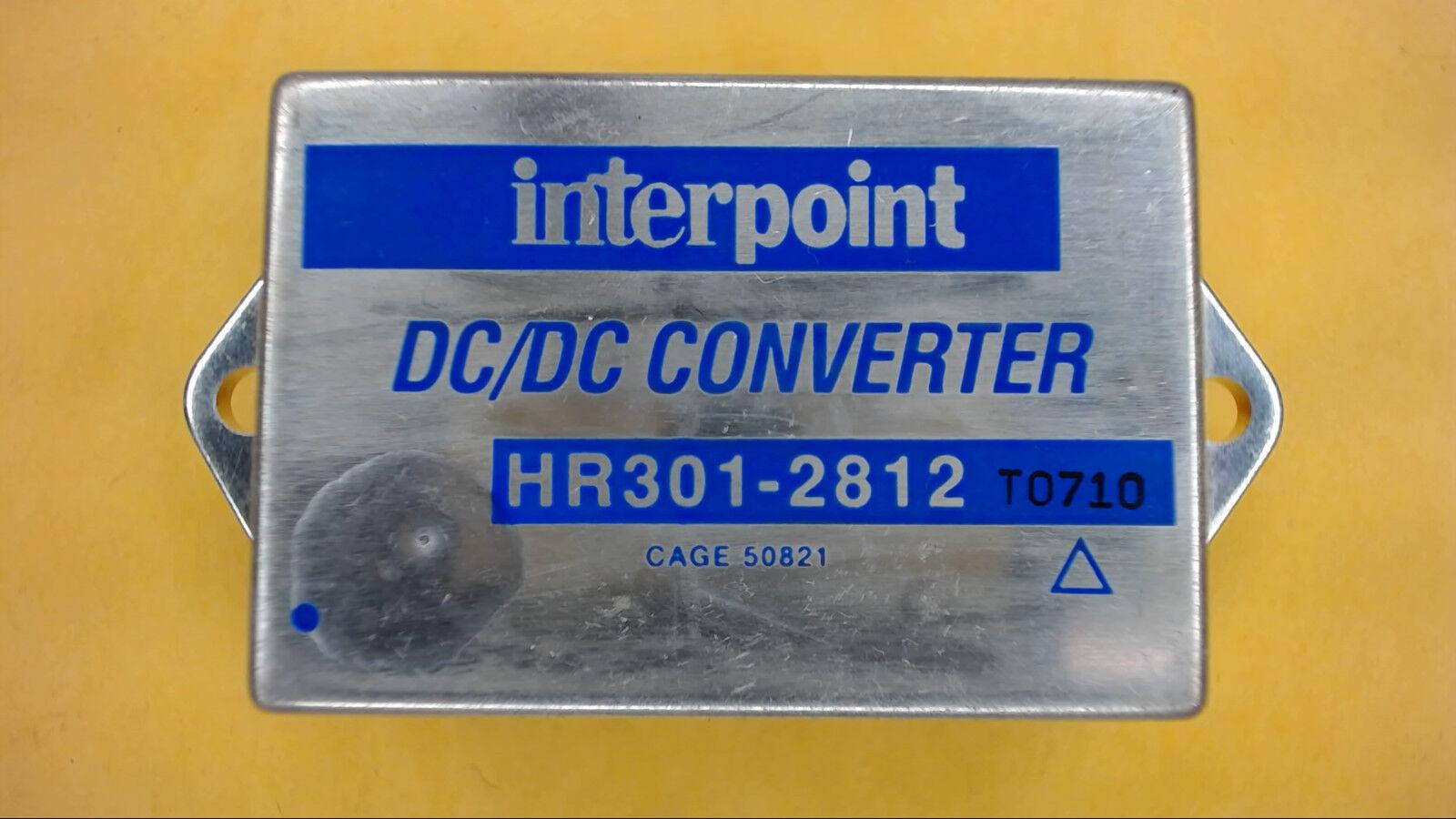 INTERPOINT HR301-2812 30-Watts Original DC DC Congreener New Quantity-1