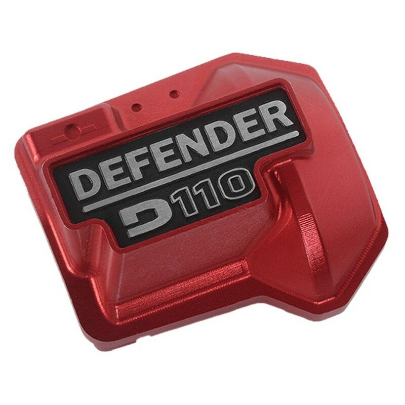 RC4WD VVV-C0480 Defender D110 Diff Cover for Traxxas TRX-4 (Red)