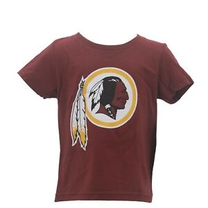 great fit 22e53 47728 Details about Washington Redskins Official NFL Apparel Infant & Toddler  T-Shirt New with Tags