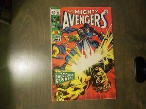 THE-AVENGERS-65-VF-NM-1969-Marvel-comics-Stan-Lee
