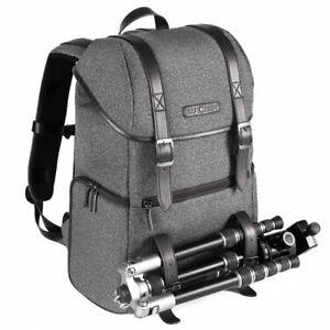 Large Camera Backpack Bag Laptop Rucksack Multifunctional for DSLR K&F Concept