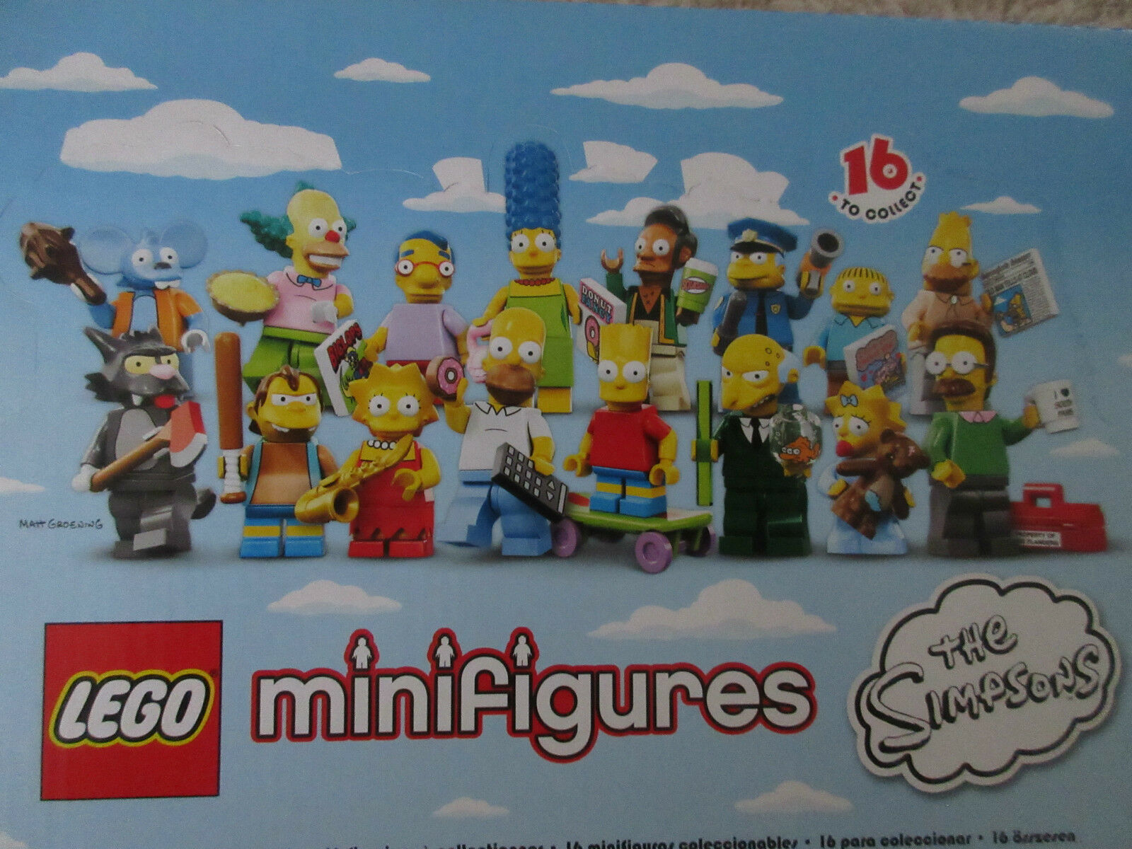 LEGO 71005- The Simpson Minifigs Serie 1 - 16 characters NEW in original bags