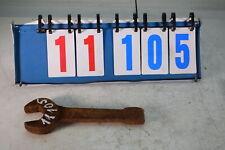 Profi Kraft Schlagschlüssel Ringschlüssel Ringschlagschlüssel Schlag 55 mm NFZ