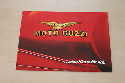 Modellprogramm Prospekt 198? Low Price Moto Guzzi 166178