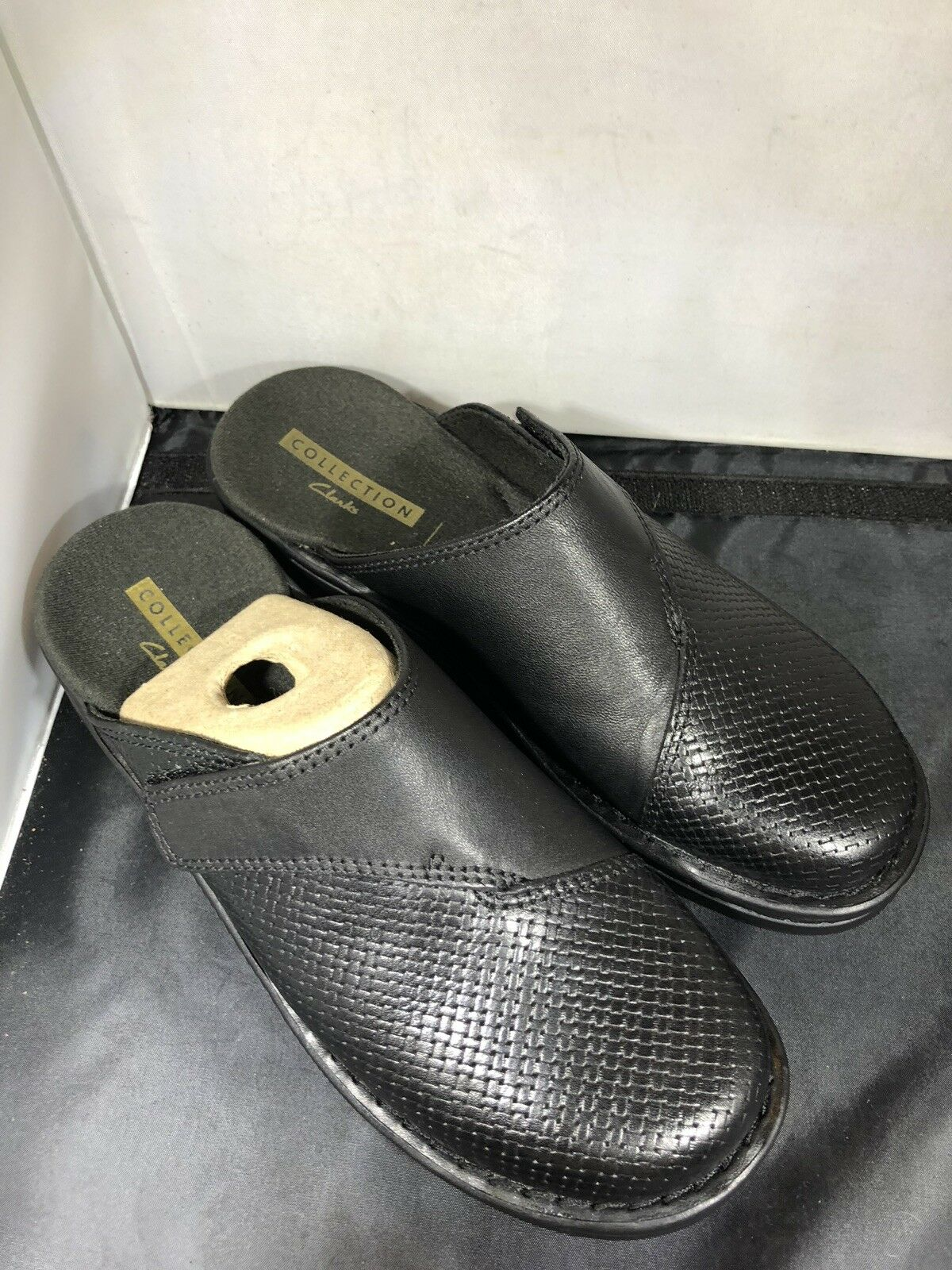 Clarks Womens Patty Tayna black leather shoes size 6m 6m 6m   26129025 ( a121) 516abc