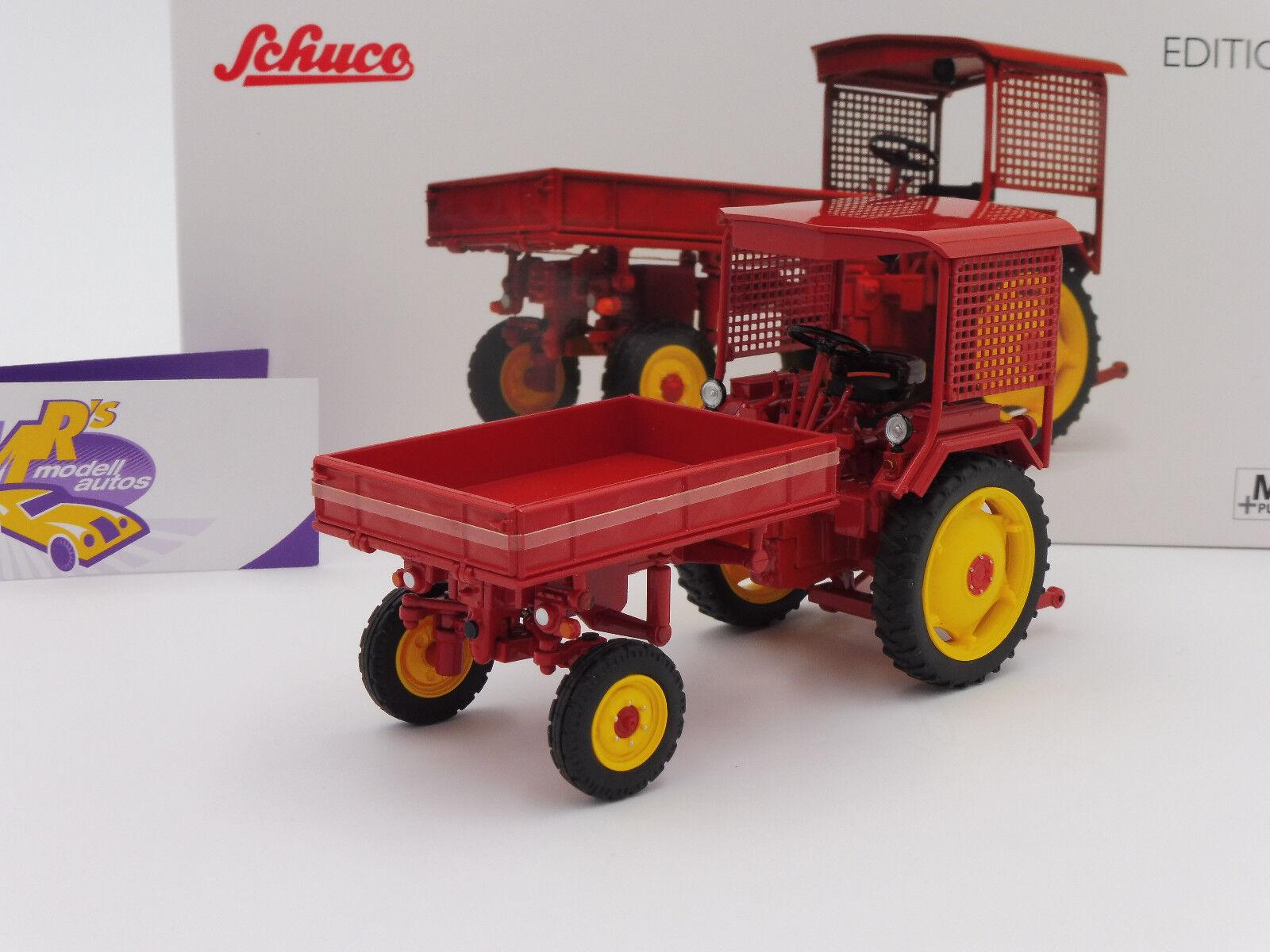 Schuco PRO.R 07828 - Fortschritt RS09-GT 124 Geräteträger Bj. 1955   rot   1 32  | Sonderaktionen zum Jahresende