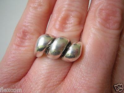 Fine Jewelry Fine Rings Massiver,interessanter 925 Silber Ring 13,5 G /gr.:17,1 Mm Silber Schmuck Sale Price
