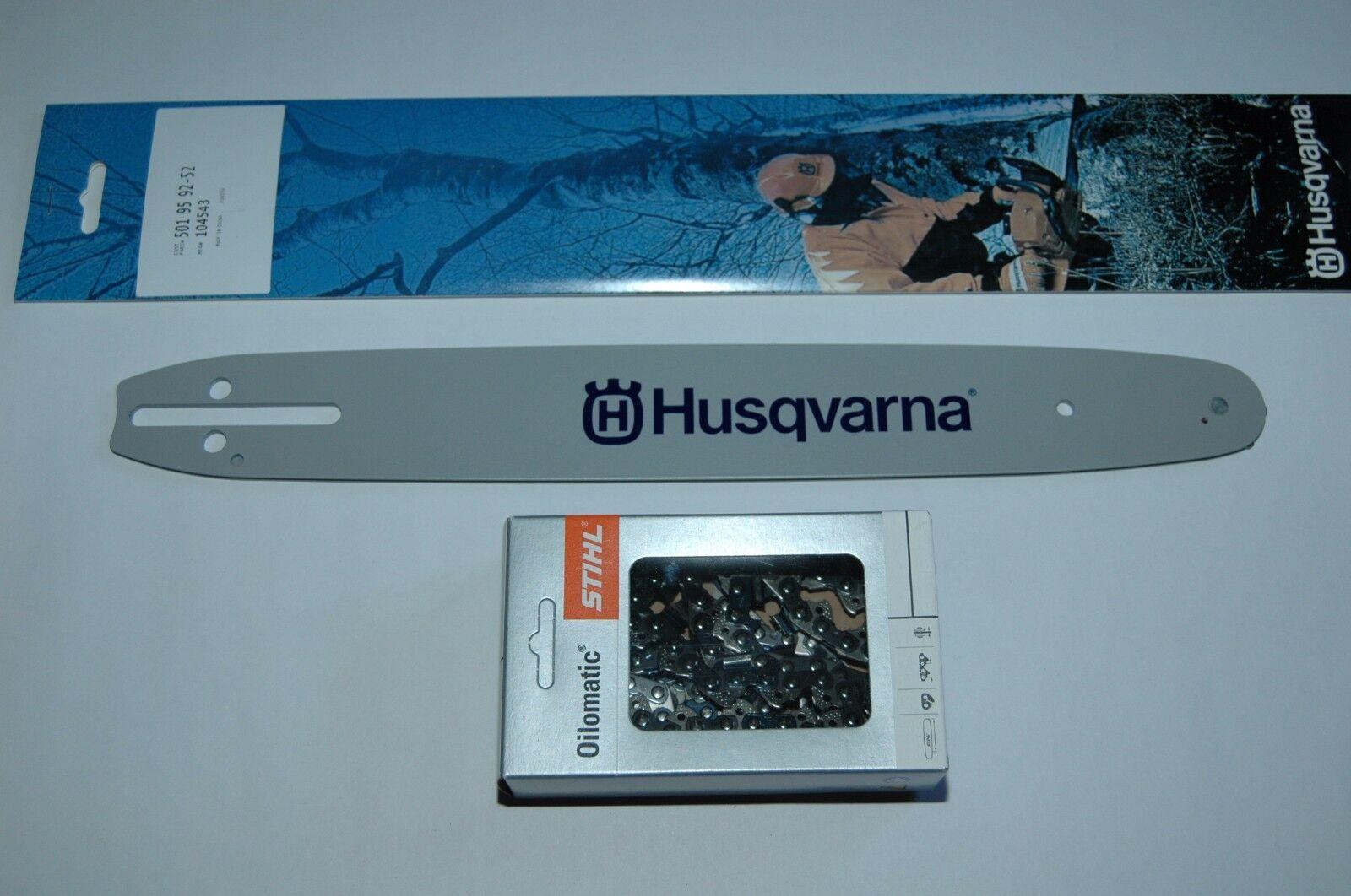 """Schwert 4 Ketten passend für Husqvarna T435 30 cm 3//8"""" 1,3 mm 45 TG Sägekette"""