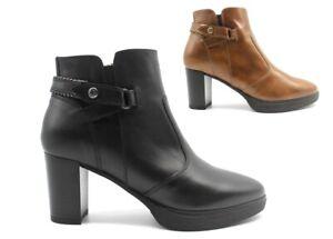 Tronchetto stivaletto da donna Nero Giardini stivali sopra la caviglia eleganti