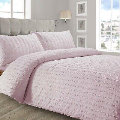Blush Pink Bedding Sets.Cotton Rich Blend Premium Bedding Seersucker Blush Pink Rose Pink Bedding Set Ebay