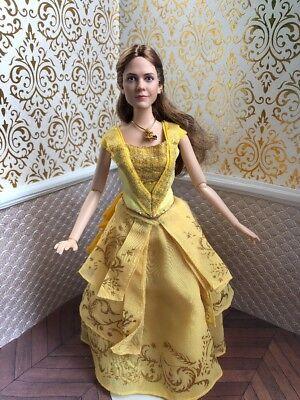 Ooak Belle Beauty Beast Disney Store Hybrid Doll Barbie Princess Emma Watson Ebay