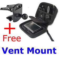 "Case+Car Mount for Garmin Nuvi 4.3""GPS 1300 1350 1350T 1350LMT 1370T 1390T 1690"