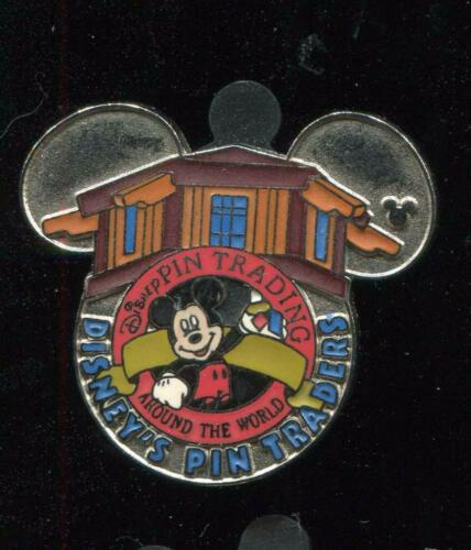 Trading Around the World Logo Promotion Disney/'s Pin Traders Disney Pin 57441