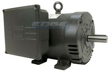 5 Hp Air Compressor Duty Electric Motor 184t Frame 3450 Rpm 1 Phase 230 Volt New