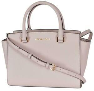 Michael Kors Selma Medium Top Zip Satchel Bag - Blossom