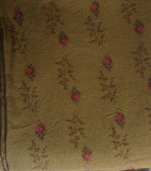 RARE Crisp Ralph Lauren Formal Garden Flat Sheet Excellent Condition