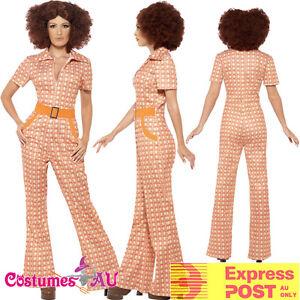 Ladies-70s-60s-Authentic-Chic-Costume-Retro-Hippie-Hippy-Tragic-Disco-Jumpsuit