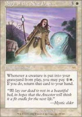 White Onslaught Mtg Magic Rare 4x x4 4 PLAYED Sigil of the New Dawn