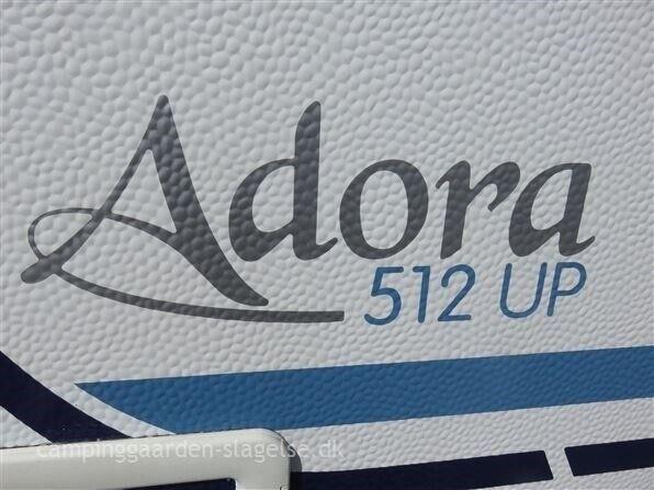Adria Adora 512 UP, 2008, kg egenvægt 1050