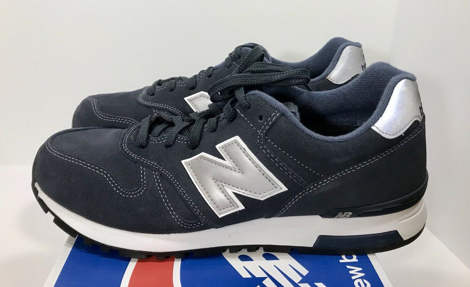 New Balance 565 Men's Talla 12 Classic zapatillas ML565NV Navy azul NEW