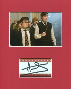Matthew-Lewis-Harry-Potter-Neville-Longbottom-Signed-Autograph-Photo-Display