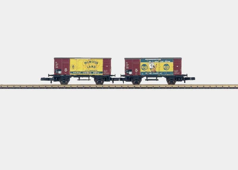 Marklin 2-Car  Economic Miracle  Freight Car Set 2 by   Z 86392