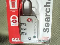 Ccl Security 7470 Pewter Tsa 3 Digit Combination Lock
