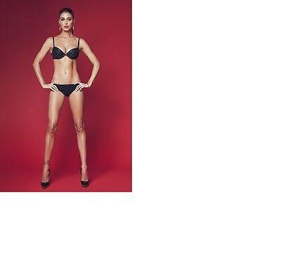 b7cf5da33ac8 Jadea - Coordinato Completo intimo Push Up Brasiliano maculato glitter  art.4609 | eBay