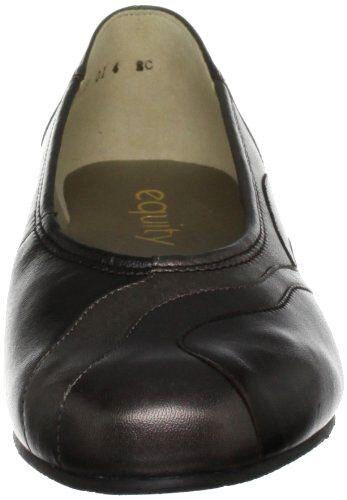 Equity Comfort Fit 3 Ee taglia in Rrp 65 pelle bassa scarpe Wide marrone Molly 5 TWqpZ06B