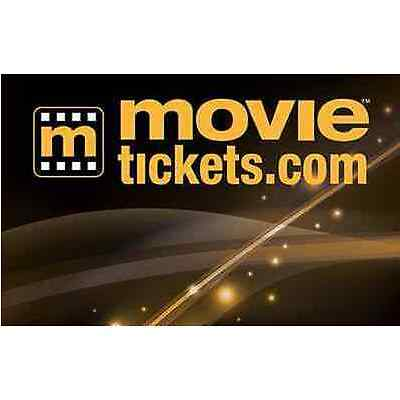 $35 MovieTickets.com Gift Card - Email delivery