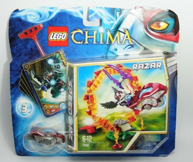 LEGO 70100 Legends of Chima Ring of Fire Razar (6-12) NEW