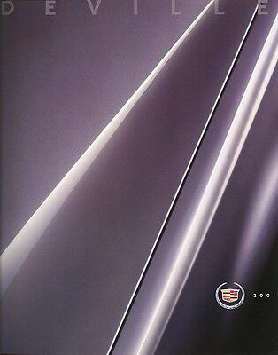 2001 cadillac deville dhs dts deluxe sales brochure w paint interior chips ebay ebay