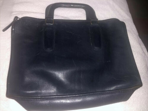 Vintage COACH Bonnie Cashin Leather Briefcase Hand