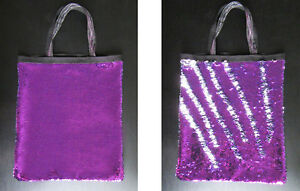 Image Is Loading Mermaid Pillow Sequin Tote Bag Flip Up Double