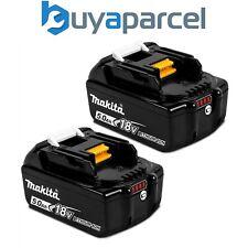2 X Genuine Makita 18V 5.0Ah Li-Ion LXT Battery BL1850 5AH Star Battery BL1850B