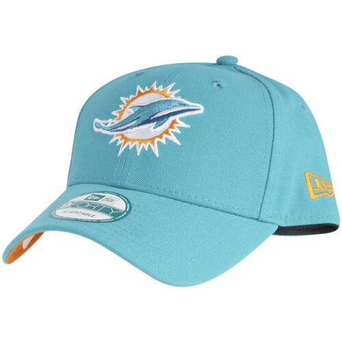 New Era 9Forty Cap NFL LEAGUE Miami Dolphins aqua