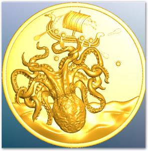 Petrobond-Delft-Clay-Push-Ingot-Casting-Mold-Pattern-Kraken
