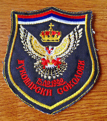 SERBIA SERB ARMY OF KRAJINA REGULAR SLEEVE PATCH BALCAN WAR ERA YUGOSLAVIA