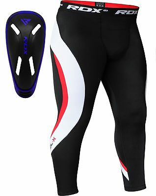 Rdx Fitness Pantaloni Compressione Strato Base In Esecuzione Con Conchiglia I