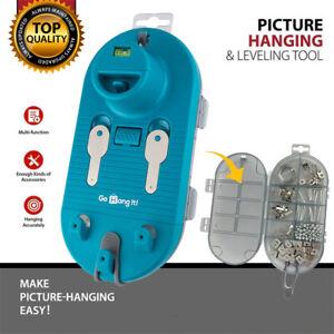Saker Picture Hanging Tool Kit With Photo Frame Level Hanger Measuring Layout