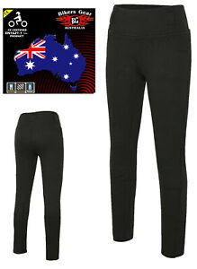 AUSTRALIAN-BIKERS-GEAR-Motorcycle-Leggings-lined-with-DuPont-Kevlar-CE-armour