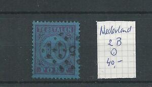 Nederland PORT P2B  LUXE VFU  CV 40 €